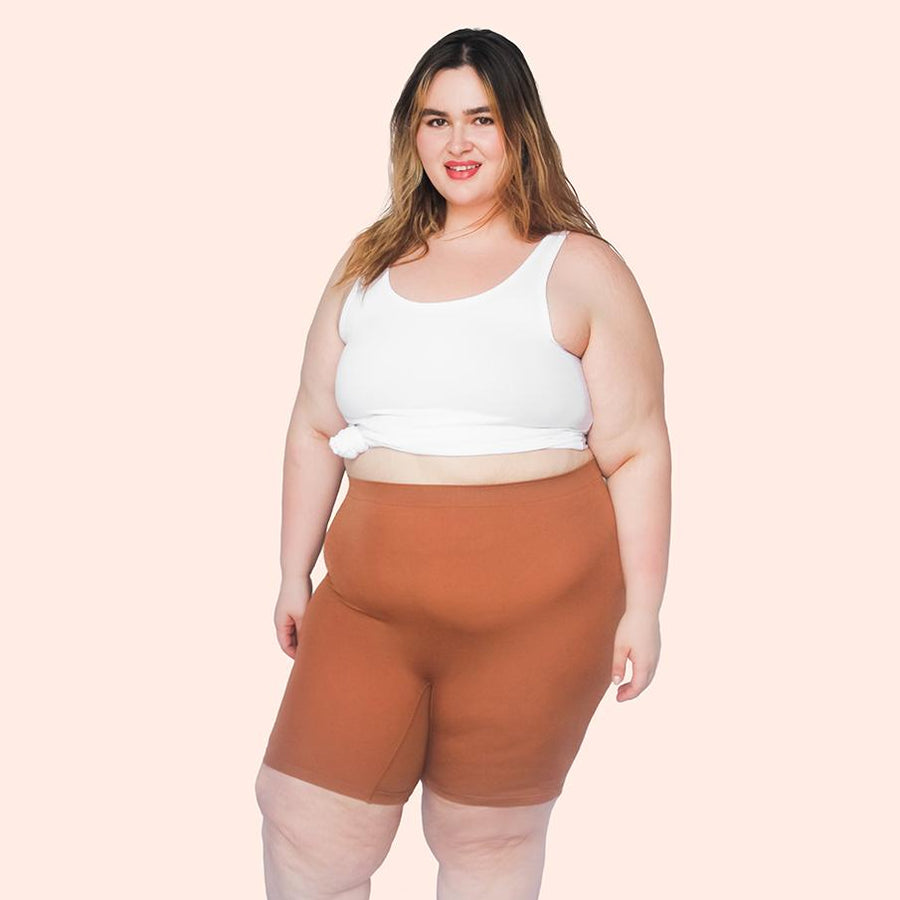 color:Cinnamon|model:Abriana is 5'7 and wearing XL/2XL Long