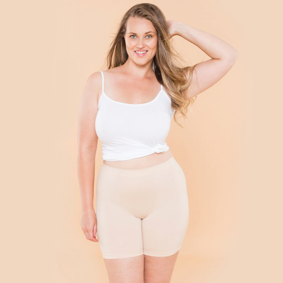 color:Beige|model:Austen is 5'8 and wearing M/L Mid