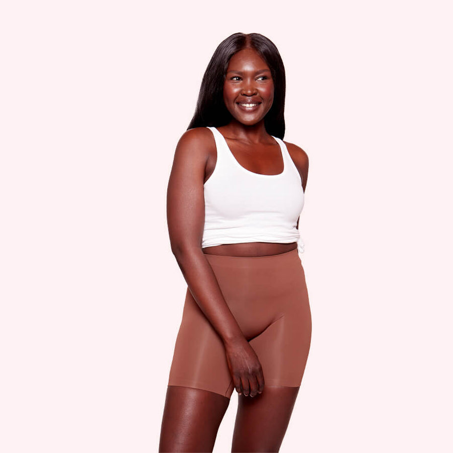 color:Cocoa|model:Angaer is 5'9 and wearing S/M Mid
