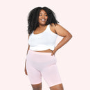color:Light Pink|model:Bree is 5'8 and wearing L/XL Long