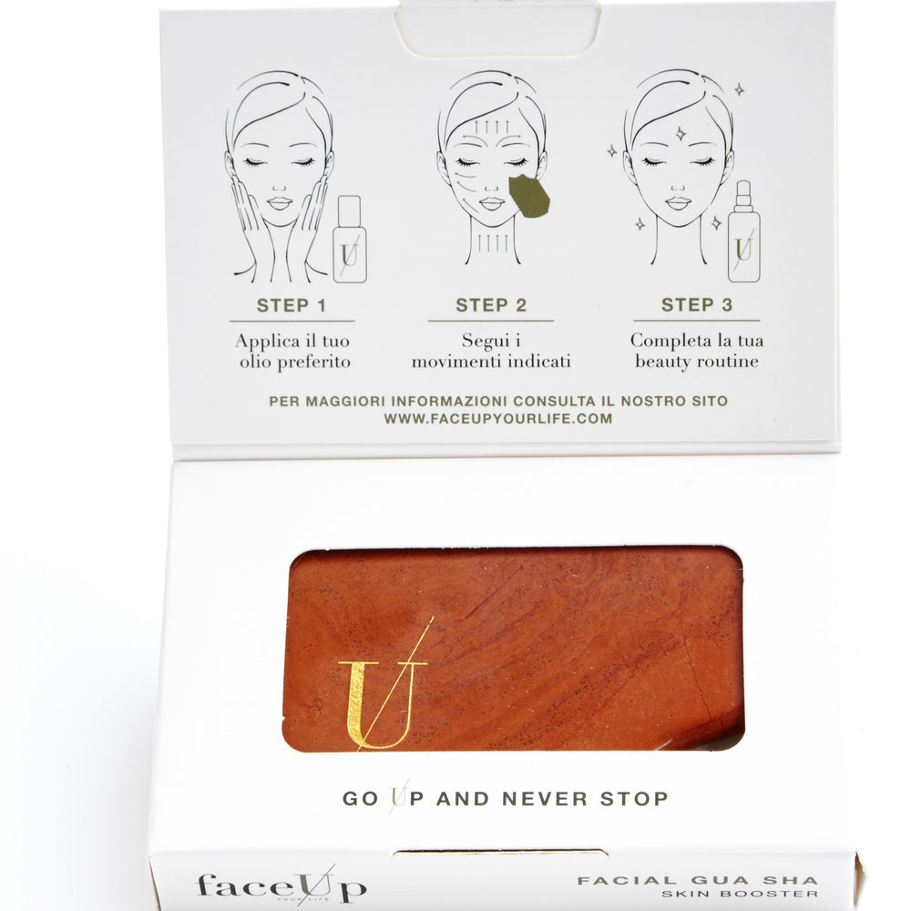 faceUp Your Life Facial Gua Sha Skin Booster
