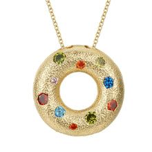 Load image into Gallery viewer, Halo Multiple Style Pendant - Gold (Small)