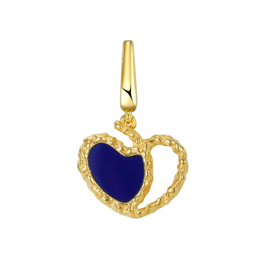 Amore Charm - Navy