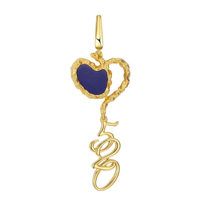 Amore Love Charm - Navy