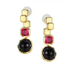 Black Berry Earrings