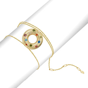 Halo Multiple Style Pendant - Gold (Small)