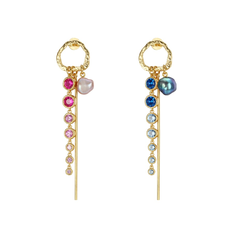 Drops of Jewels Earrings