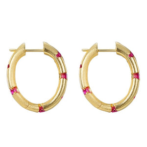 Scattered Earrings - Hoop