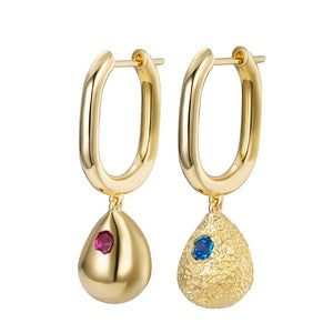 Raindrop Earrings - Single Stones