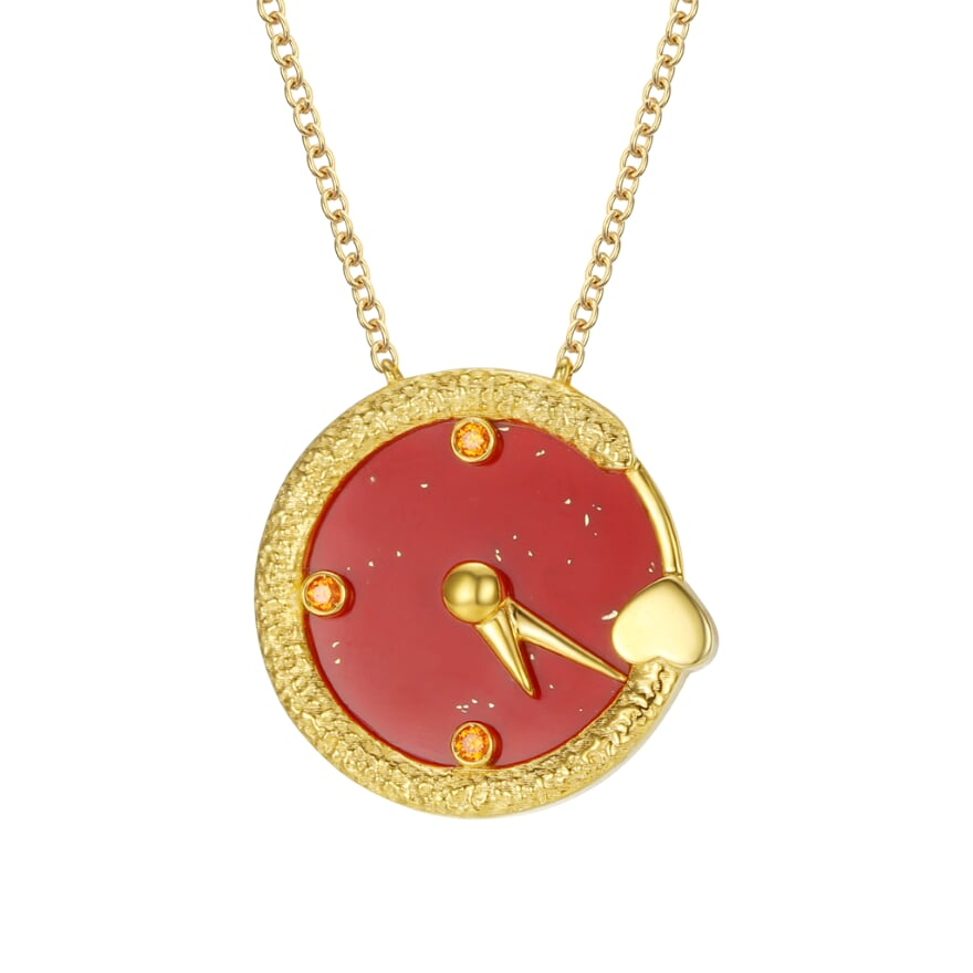 Timeless Necklace - Red