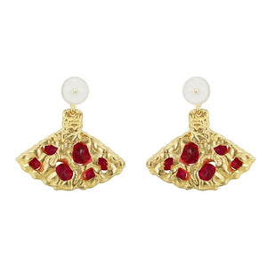 Berry Fantasy Earrings