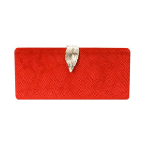 Bombshell Red Clutch