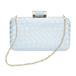 Chic to Be Me Clutch - Baby Blue