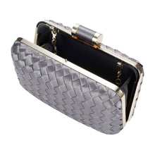 Load image into Gallery viewer, Chic to Be Me Clutch - Gunmetal
