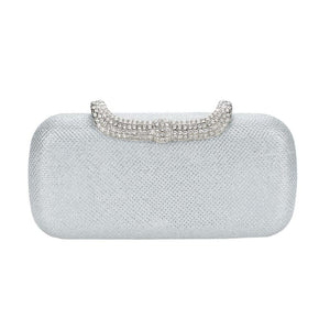 Date with Marilyn Clutch - White