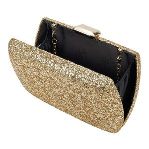 Evening Under the Stars Clutch - Gold
