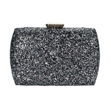 Load image into Gallery viewer, Evening Under the Stars Clutch - Black