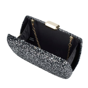 Evening Under the Stars Clutch - Black