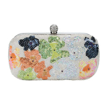 Load image into Gallery viewer, Garden Tea Party Clutch