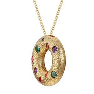 Halo Pendant - Gold (Small)