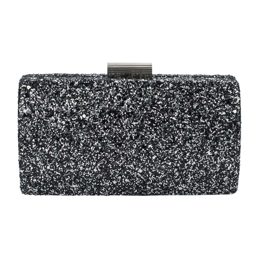 Midnight Shimmer Clutch