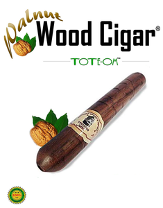 ToteOm™ Walnut Wood Pipe - 5 Inch