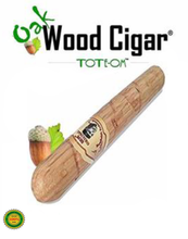 Load image into Gallery viewer, ToteOm™ Oak Wood Pipe - 5 Inch