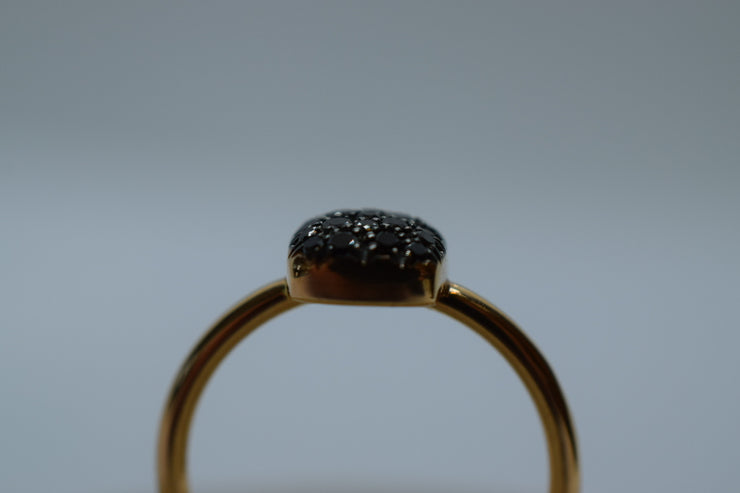 Anello Pavé Diamanti small