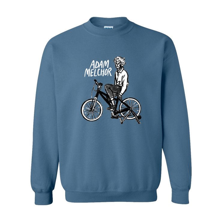 Bicycle Sweatshirt (Indigo Blue)