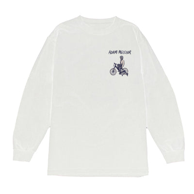 Bicycle Longsleeve T-Shirt (White)