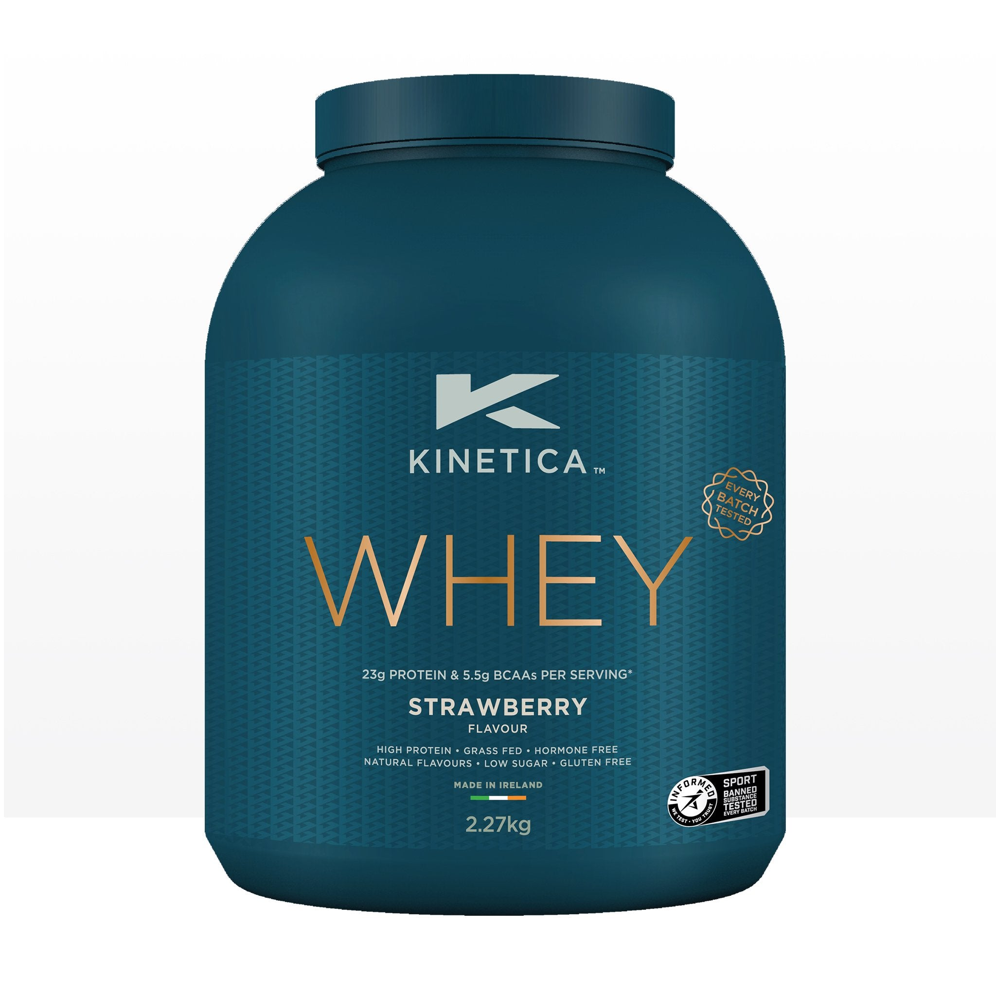 Whey Protein Strawberry 2.27kg