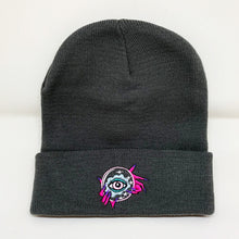 Load image into Gallery viewer, Witchy Beanie-Charcoal