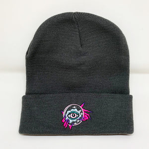Witchy Beanie-Charcoal