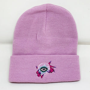 Witchy Beanie-Pink