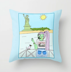 Statue of Liberty Pillow