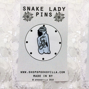 Snake Lady Pins: Back Tattoo