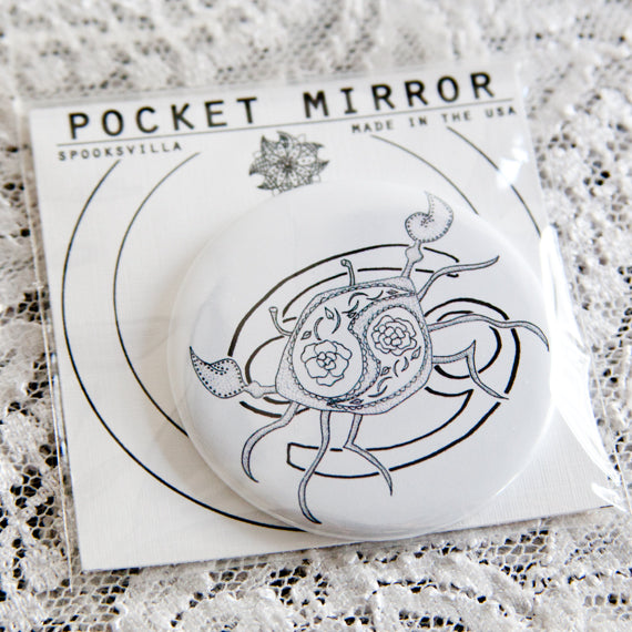 Cancer Pocket Mirror