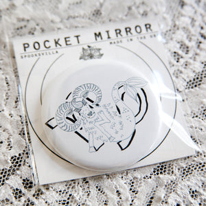 Capricorn Pocket Mirror