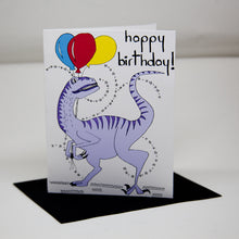 Load image into Gallery viewer, Dinosaur Birthday Card