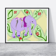 Load image into Gallery viewer, Elephant Love Print