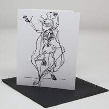 Load image into Gallery viewer, Hey Skeleton Card