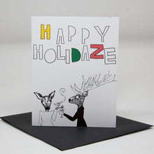 Load image into Gallery viewer, Happy Holidaze Card