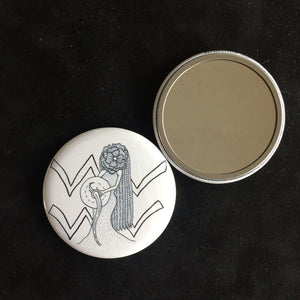 Aquarius Pocket Mirror