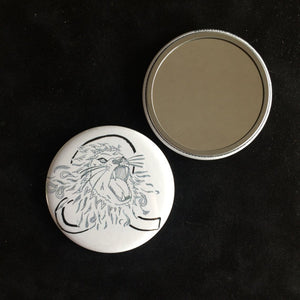Leo Pocket Mirror