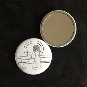 Libra Pocket Mirror