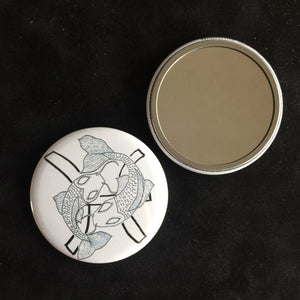 Pisces Pocket Mirror