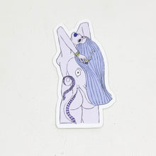 Load image into Gallery viewer, Octopus Girl Sticker