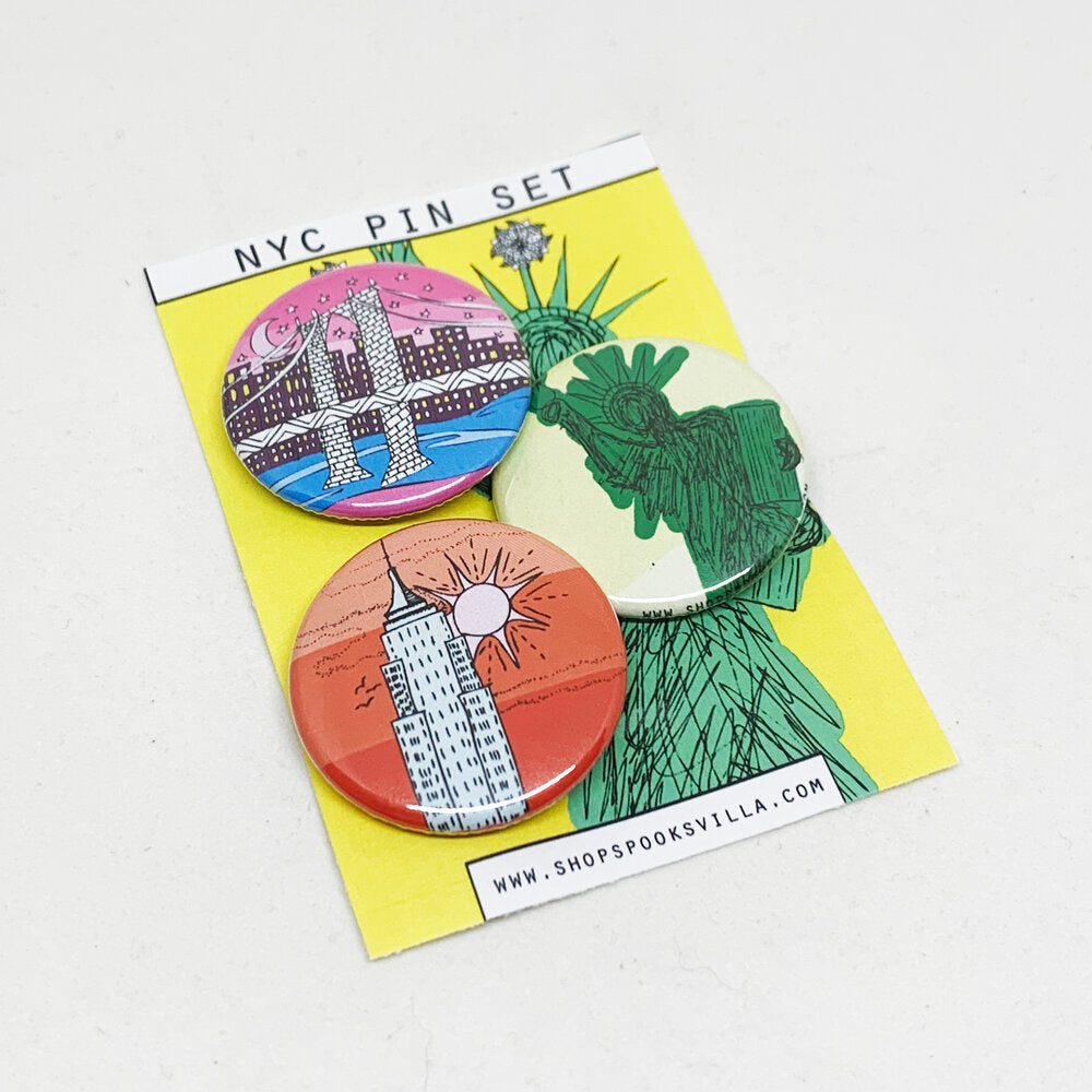 NYC Pin Set