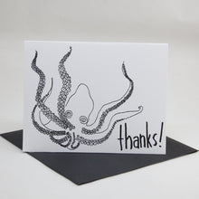 Load image into Gallery viewer, Octopus Thanks Card