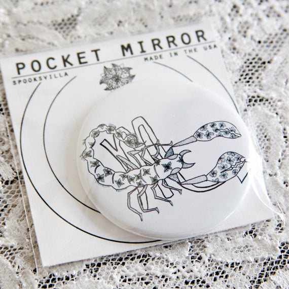 Scorpio Pocket Mirror